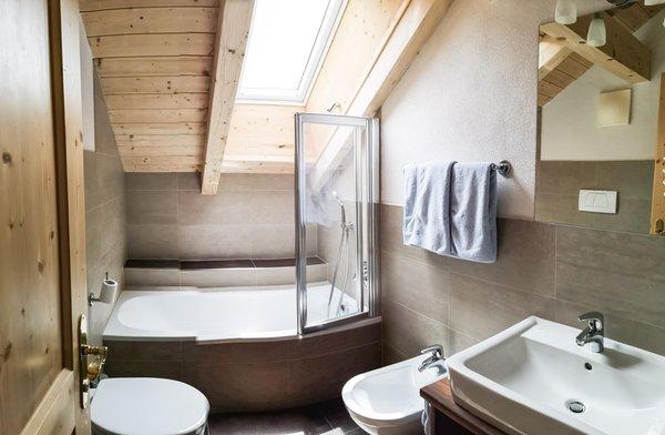 Foto del bagno Apartments Ciasa Eghes