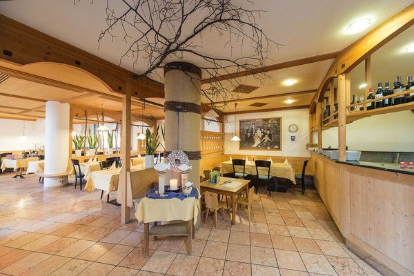 Il ristorante Molini di Tures Mühlenerhof