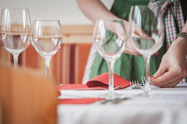 Il ristorante Riva di Tures Florian