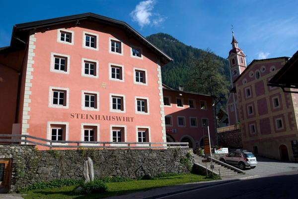 Foto esterno in estate Steinhauswirt