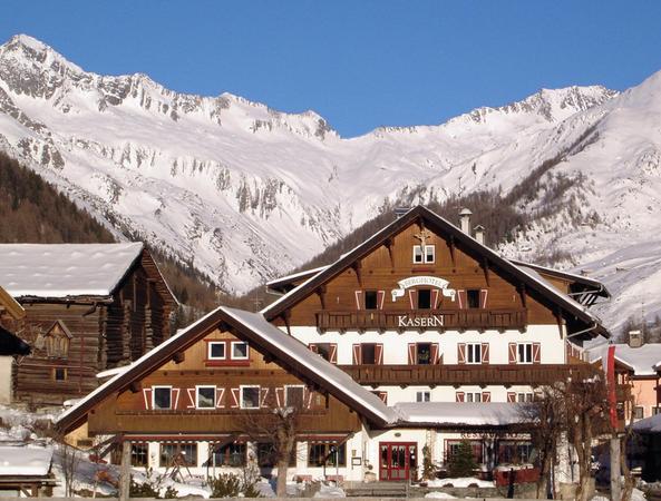 Foto invernale di presentazione Kasern - Ristorante