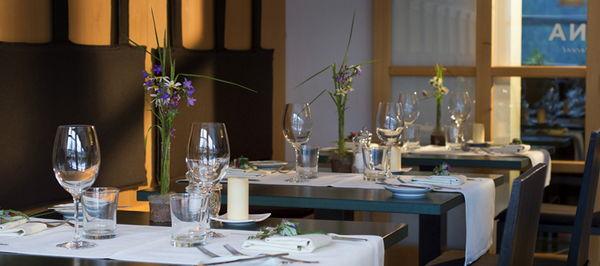 Il ristorante Campo Tures Arcana