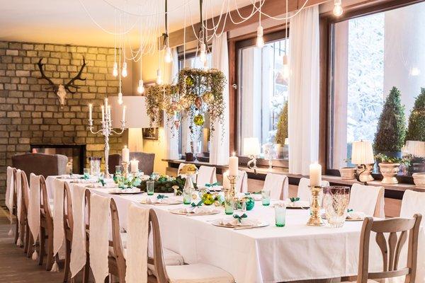 Il ristorante Campo Tures Drumlerhof