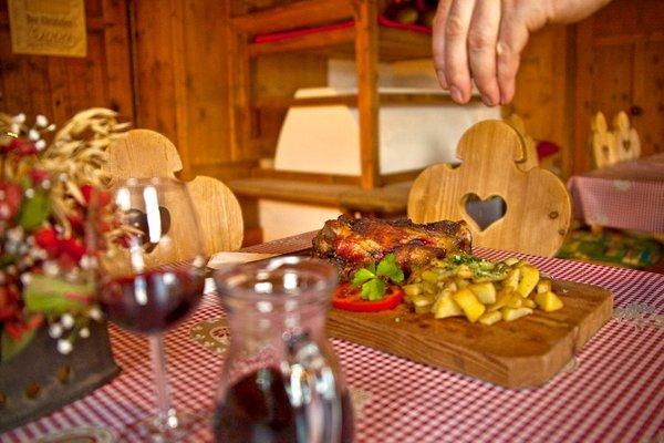 Il ristorante San Giovanni (Valle Aurina) Rotbachalm