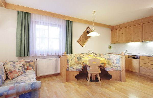 The living area B&B (Garni) + Apartments Cristin & Dep. Antina