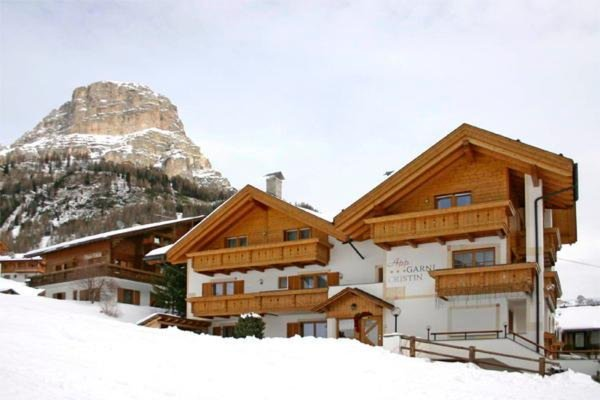 Foto invernale di presentazione Cristin & Dep. Antina - Garni (B&B) + Appartamenti 2 stelle