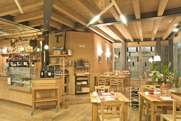 Das Restaurant Val di Zoldo - Forno Locanda Tana de 'l Ors