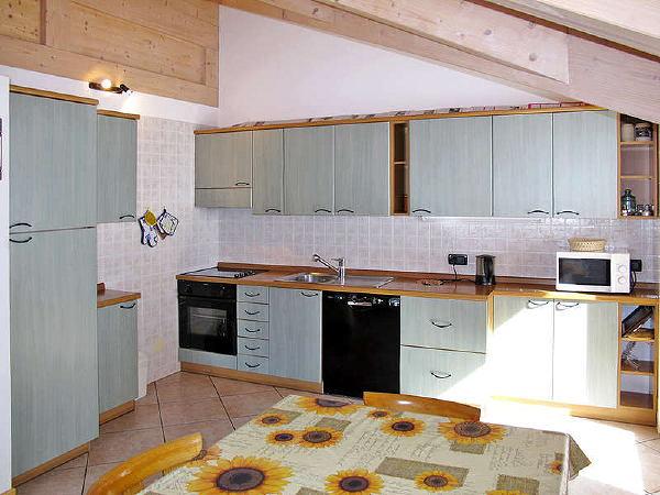 Foto della cucina Ciasa Gran Panorama