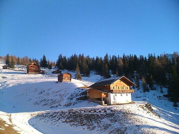 Foto invernale di presentazione Malga Oberhabererhütte auf Stumpfalm