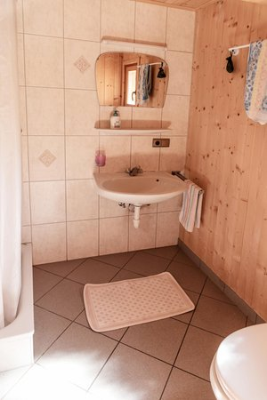Foto del bagno Malga Oberhabererhütte auf Stumpfalm