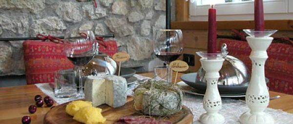 Il ristorante Canazei Chalet Monti Pallidi