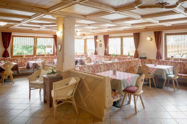Il ristorante Colfosco Sirio