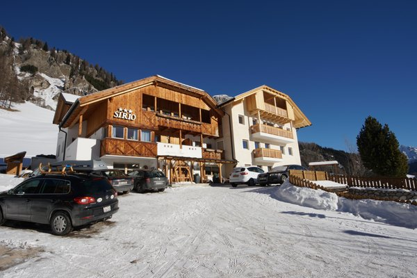 Foto invernale di presentazione Sirio - Garni (B&B) + Appartamenti 3 stelle
