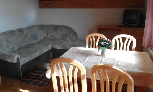 La zona giorno Villa Bernhard - Appartamenti 3 soli