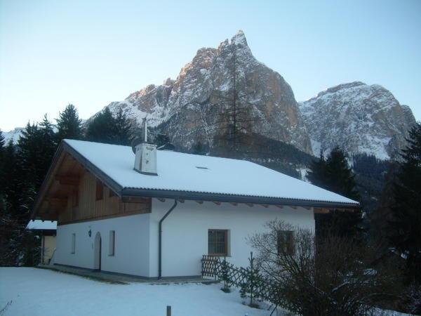 Foto invernale di presentazione Villa Bernhard - Appartamenti 3 soli
