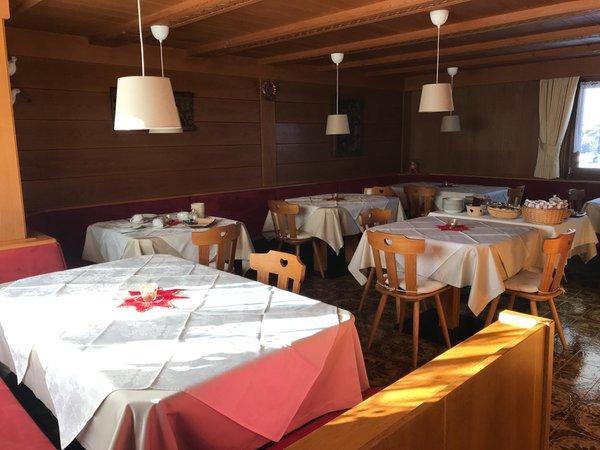 Das Restaurant Corvara La Vara