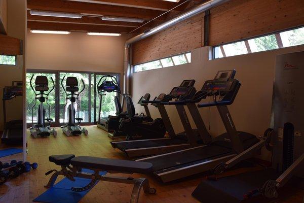 Foto della zona fitness Wellness e Spa Corte Spa