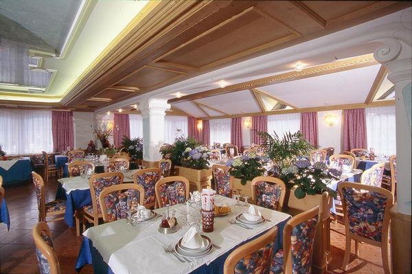 Il ristorante Bellamonte Torretta