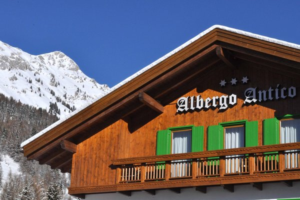 Photo exteriors in winter Antico