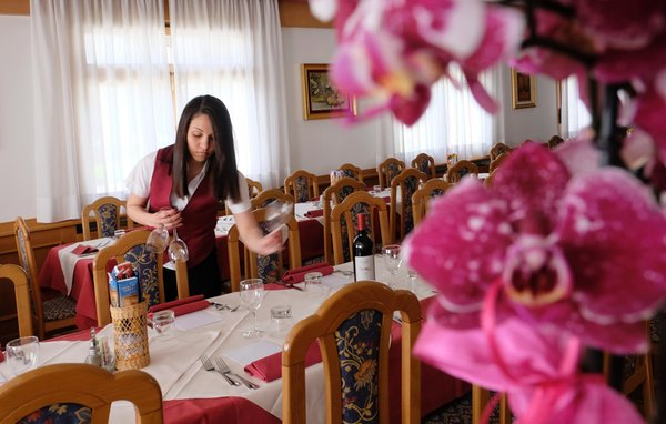 Il ristorante Bellamonte Antico