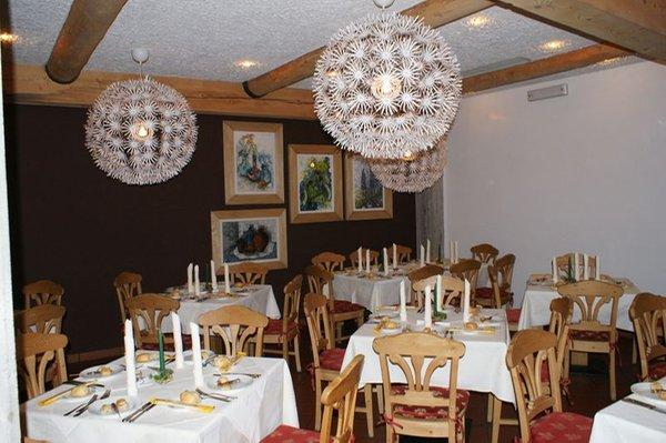 Il ristorante Carano (Val di Fiemme) Veronza