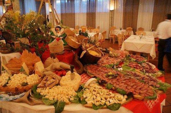 Il ristorante Carano Veronza
