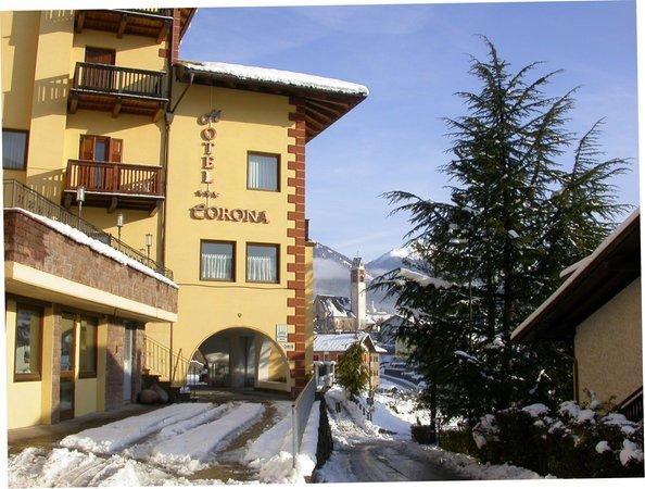 Winter Präsentationsbild Hotel Corona