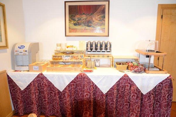 Das Frühstück Hotel Corona