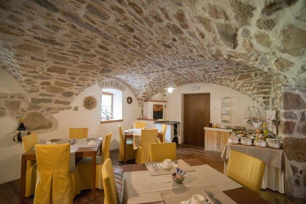 The restaurant Carano (Val di Fiemme) Maso Franceschella