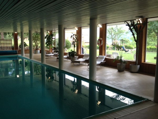 La piscina Hotel Latemar