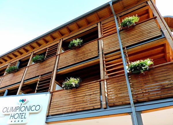 Foto estiva di presentazione Hotel Olimpionico