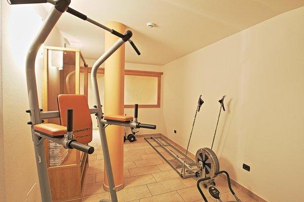 Foto della zona fitness Hotel Olimpionico