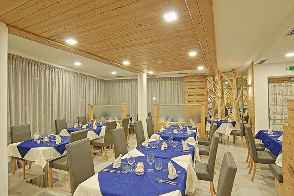 Il ristorante Castello di Fiemme Olimpionico