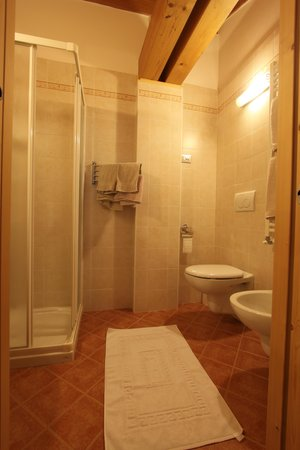 Foto del bagno Bed & Breakfast Corradini