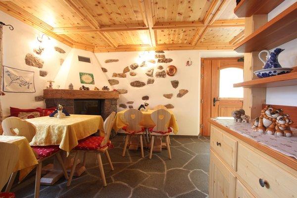 Die Gemeinschaftsräume Bed & Breakfast Corradini