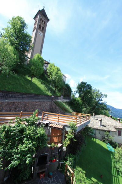 Photo of the garden Castello di Fiemme