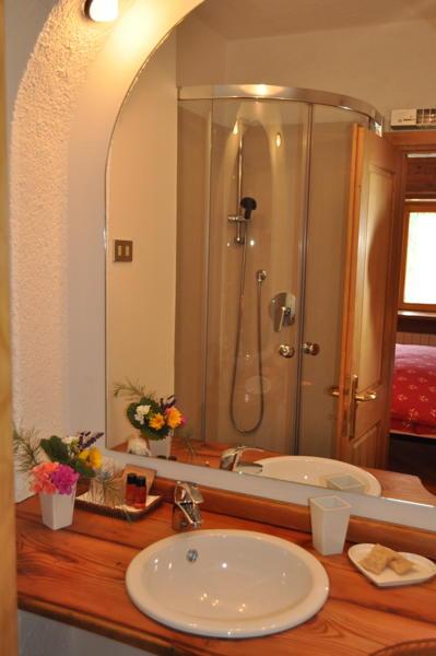 Foto del bagno Bed & Breakfast Casa Pichler