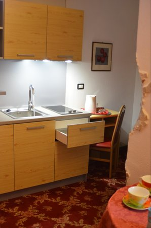 Der Wohnraum Hotel Ancora & Suites