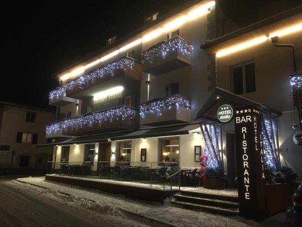 Foto invernale di presentazione Hotel Italia