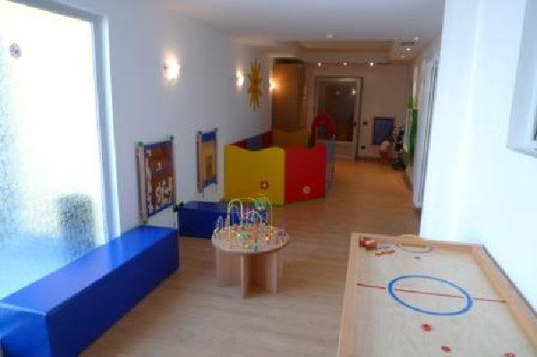 La sala giochi Hotel Italia