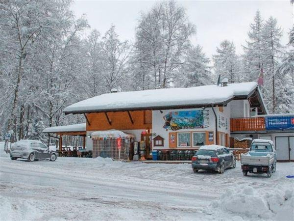 Foto invernale di presentazione Hotel Pineta