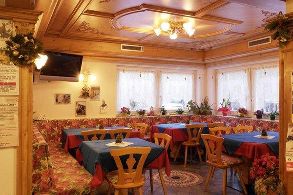 Il ristorante Molina di Fiemme Pineta