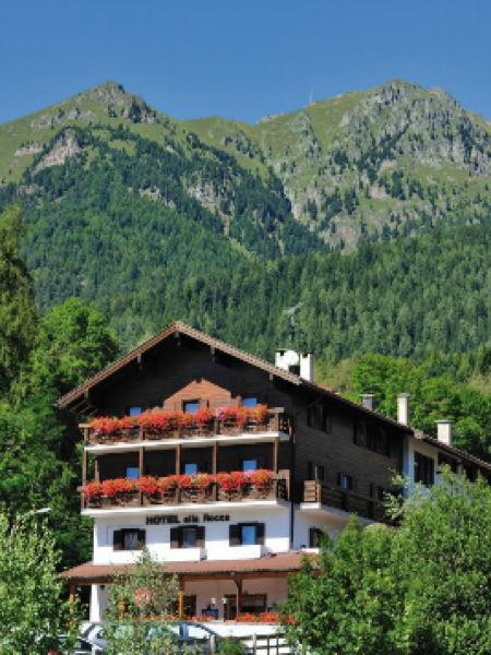 La posizione Hotel Alla Rocca Varena