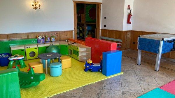 The children's play room Hotel Lagorai Resort & Spa