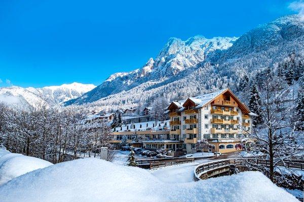 Foto invernale di presentazione Hotel Rio Stava Family Resort & Spa