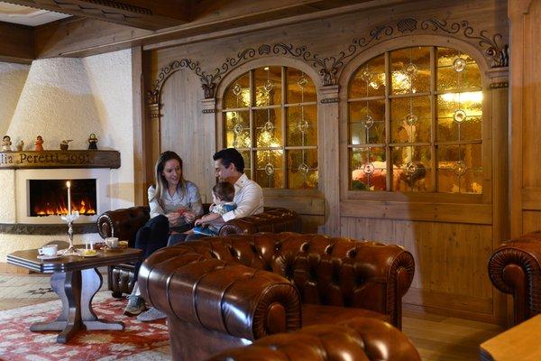 Die Gemeinschaftsräume Hotel Rio Stava Family Resort & Spa