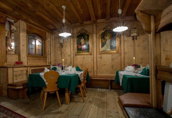 Il ristorante Cavalese La Stüa