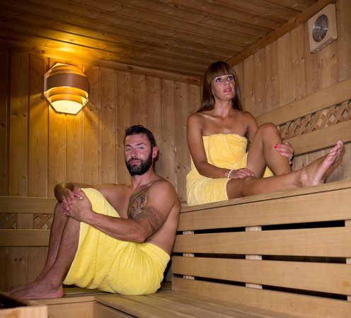 Photo of the sauna Cavalese