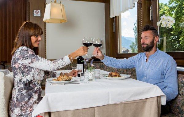Il ristorante Cavalese Orso Grigio