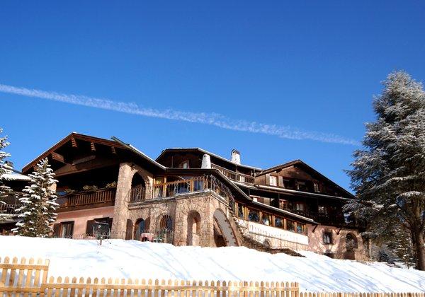 Foto invernale di presentazione Parkhotel Villa Trunka Lunka